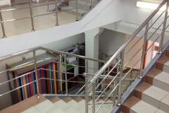Перила на внутренней лестнице