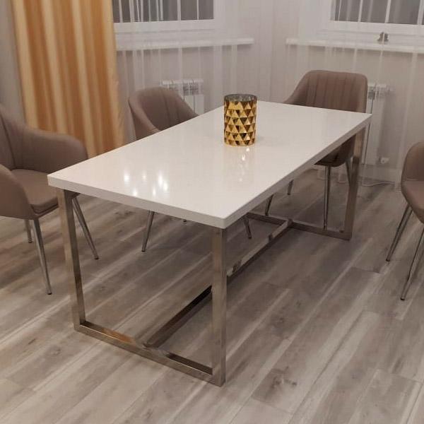 Столы-мебель из нержавейки